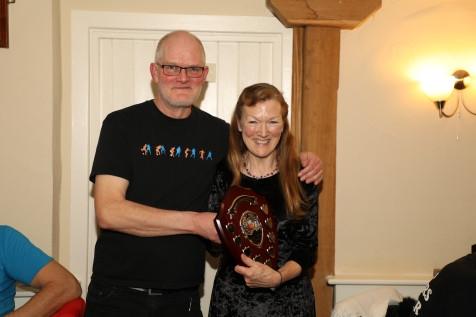 Well done Mandy, two years running!